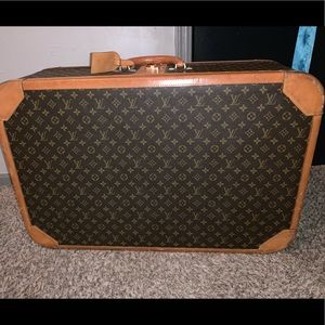 Auth LOUIS VUITTON STRATOS 80 Trunk Case Suitcase